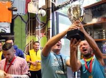 MINI BAJNOKOK LIGÁJA (és Európa Liga) Éjszakai Cageball Torna