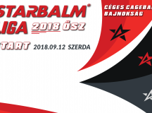 STARBALM LIGA – Céges Bajnokság 2018 ŐSZ – SZERDA