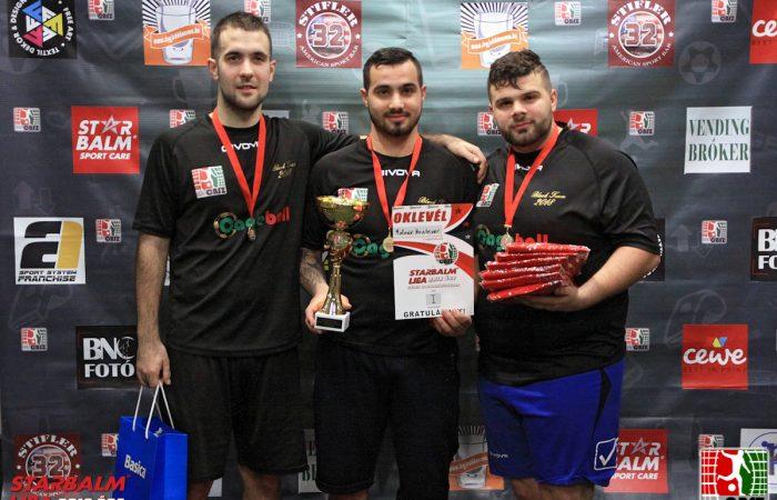 STARBALM LIGA – Céges Bajnokság 2018 ŐSZ