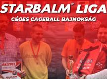 STARBALM LIGA – Céges Bajnokság 2019 TÉL-TAVASZ
