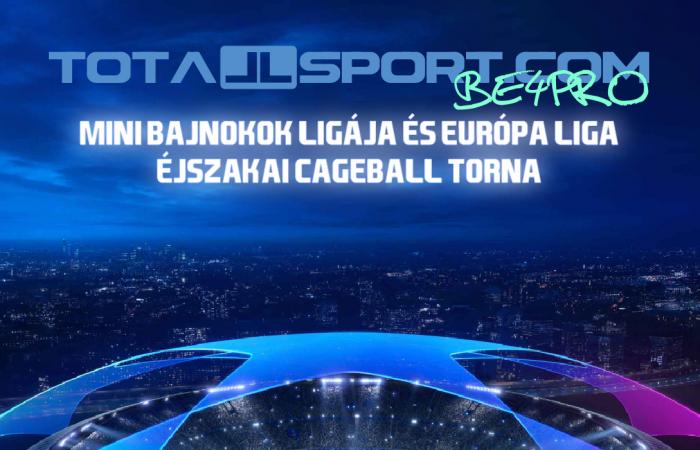 Totallsport.com MINI BL (és EL) Éjszakai Torna