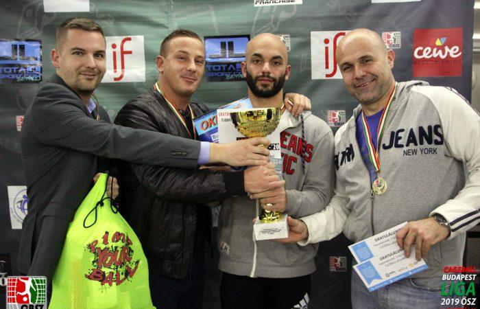 Totallsport.com BUDAPEST LIGA 2019 ŐSZ I. Osztály