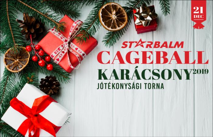Cageball Karácsony 2019 – Jótékonysági Torna