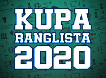 KUPA RANGLISTA 2020