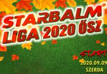 STARBALM LIGA Céges Bajnokság 2020 ŐSZ